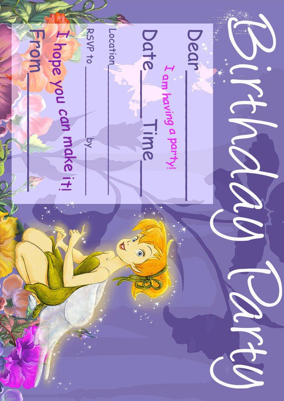 printable 7th birthday invitation templates