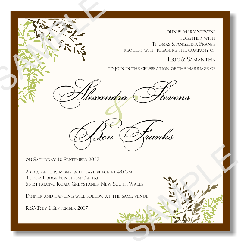 Printable Anniversary Invitations Templates