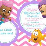 Printable Kids Birthday Invitation Cards