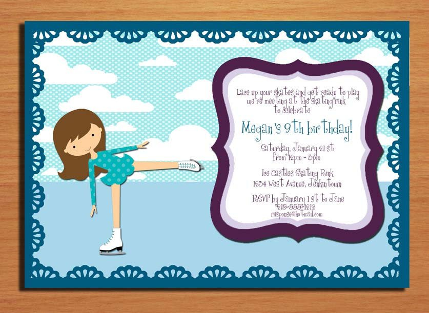 Printable Birthday Invitations Cards Kids 2015