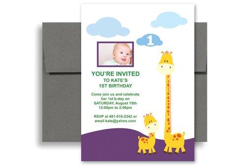 Printable Birthday Invitations Cards Kids 2016