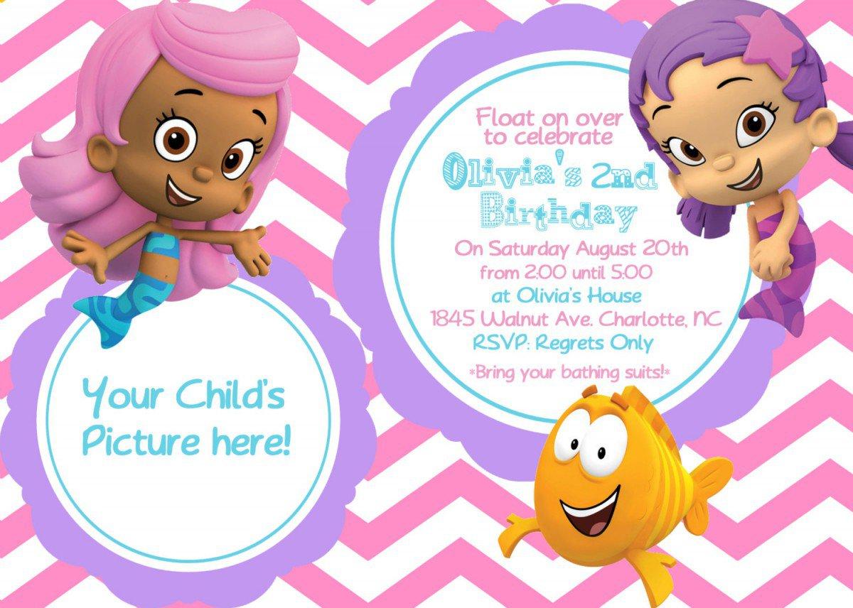 Printable Birthday Invitations Cards Kids 2018