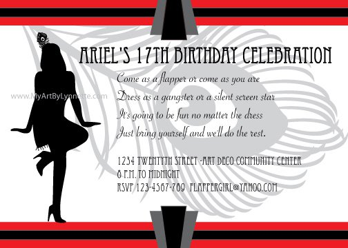 Printable Birthday Invitations For Teenage Girls 2015