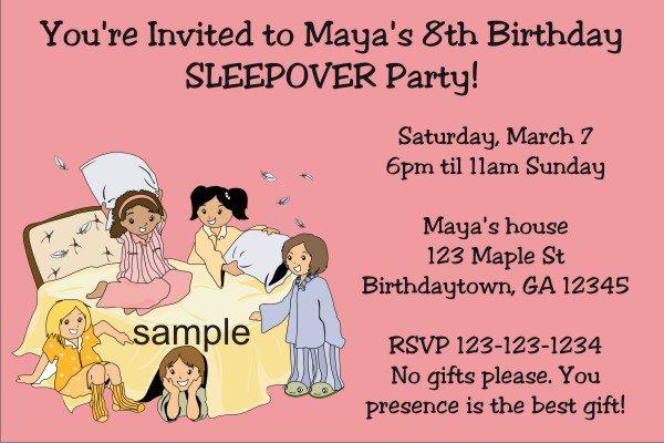 Printable Birthday Invitations For Teenage Girls 2016