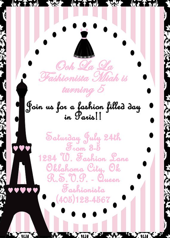 Printable Birthday Invitations For Teenage Girls Free 2017