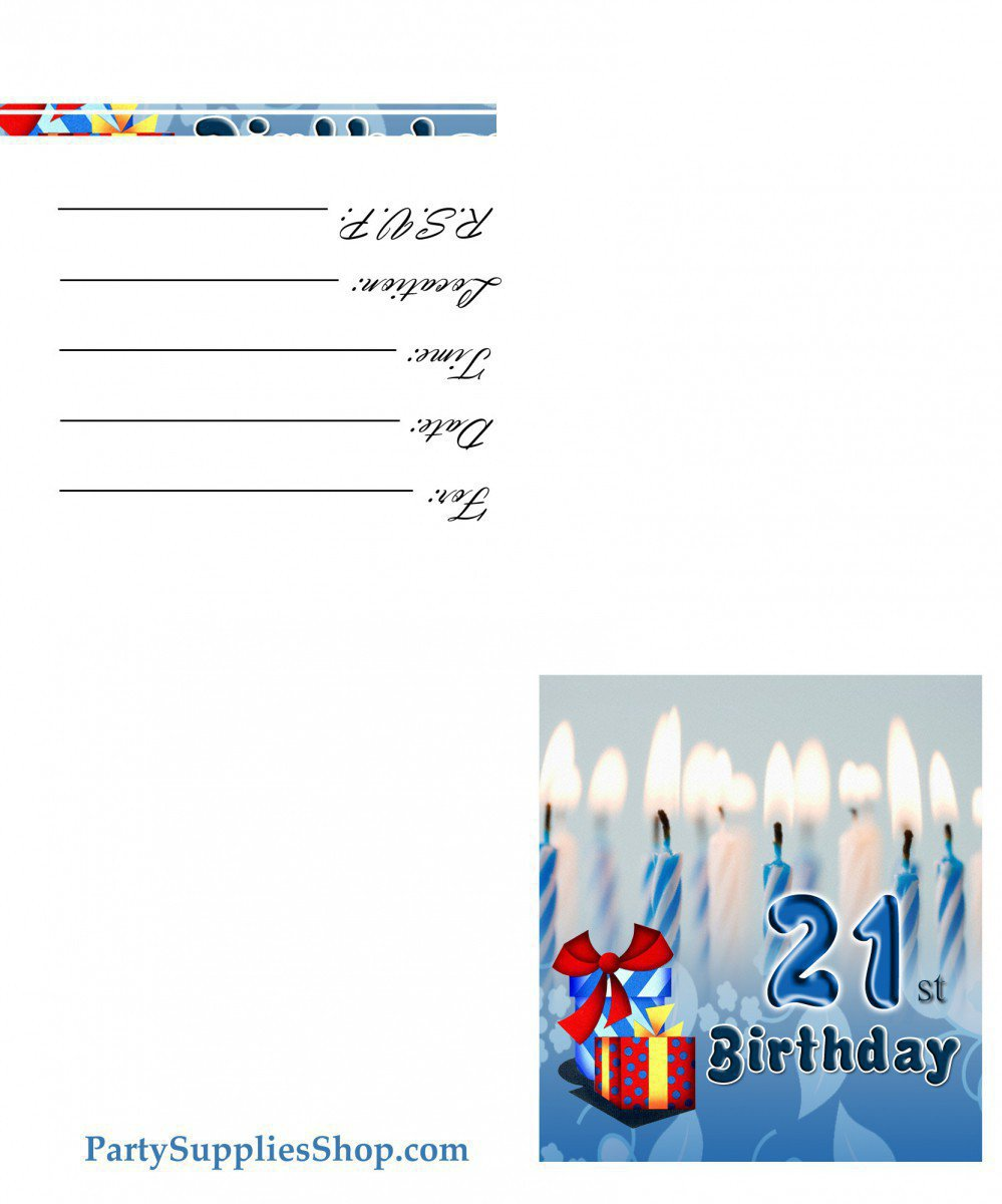 Printable Birthday Party Invitations Free 2016
