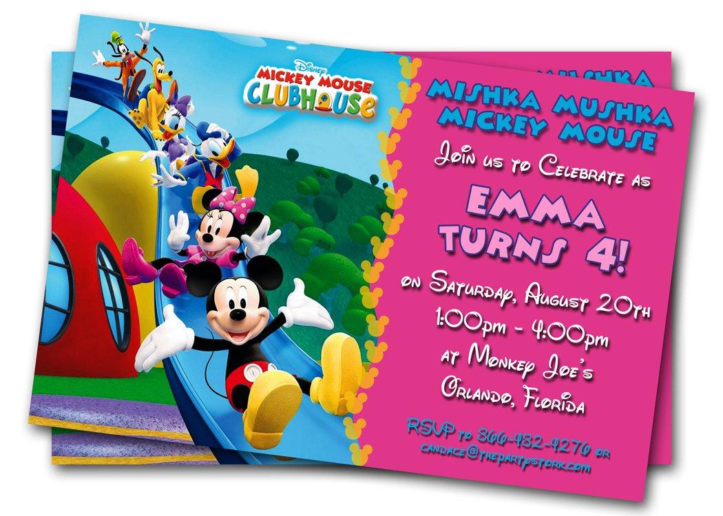 Printable Children  Birthday Invitations