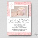 Printable Christening Invitation Cards