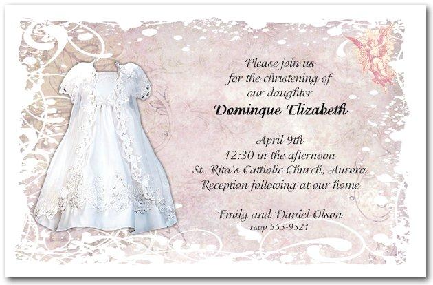Printable Christening Invitations For Girls 2016