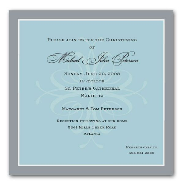 Printable Christening Invitations Templates 2017
