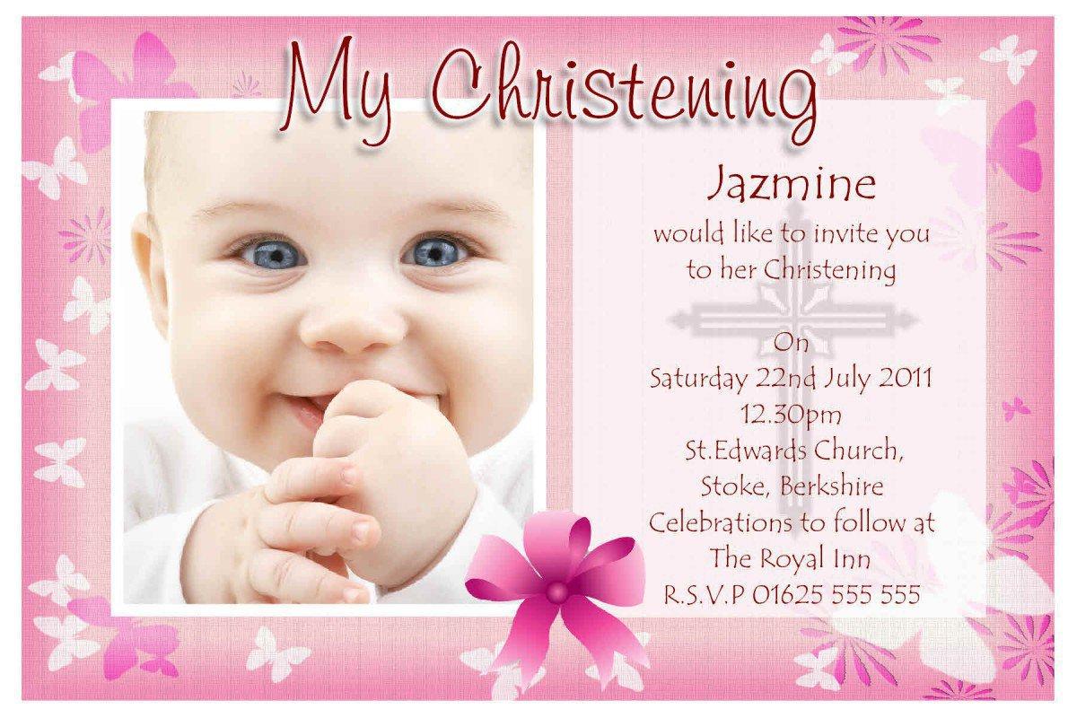 Printable Christening Invitations Templates 2014 2016
