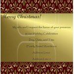 Printable Christmas Invitation Templates 2018