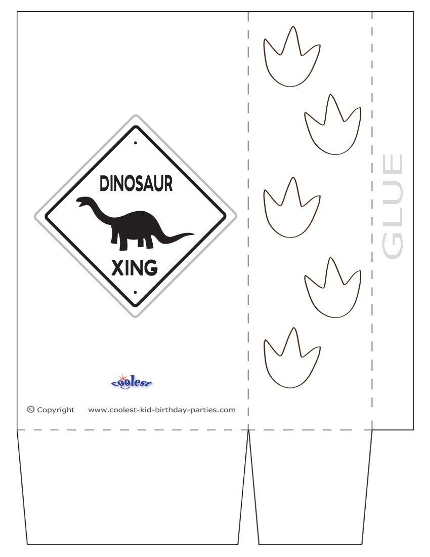 Printable Dinosaur Party Decorations