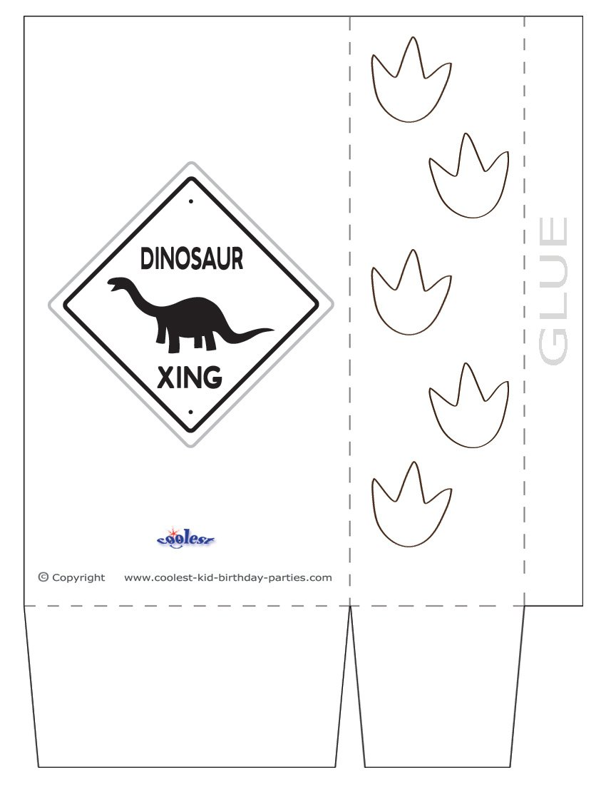 Printable Dinosaur Party Decorations