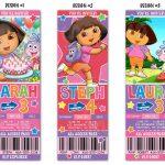 Printable Dora The Explorer Birthday Party Invitations