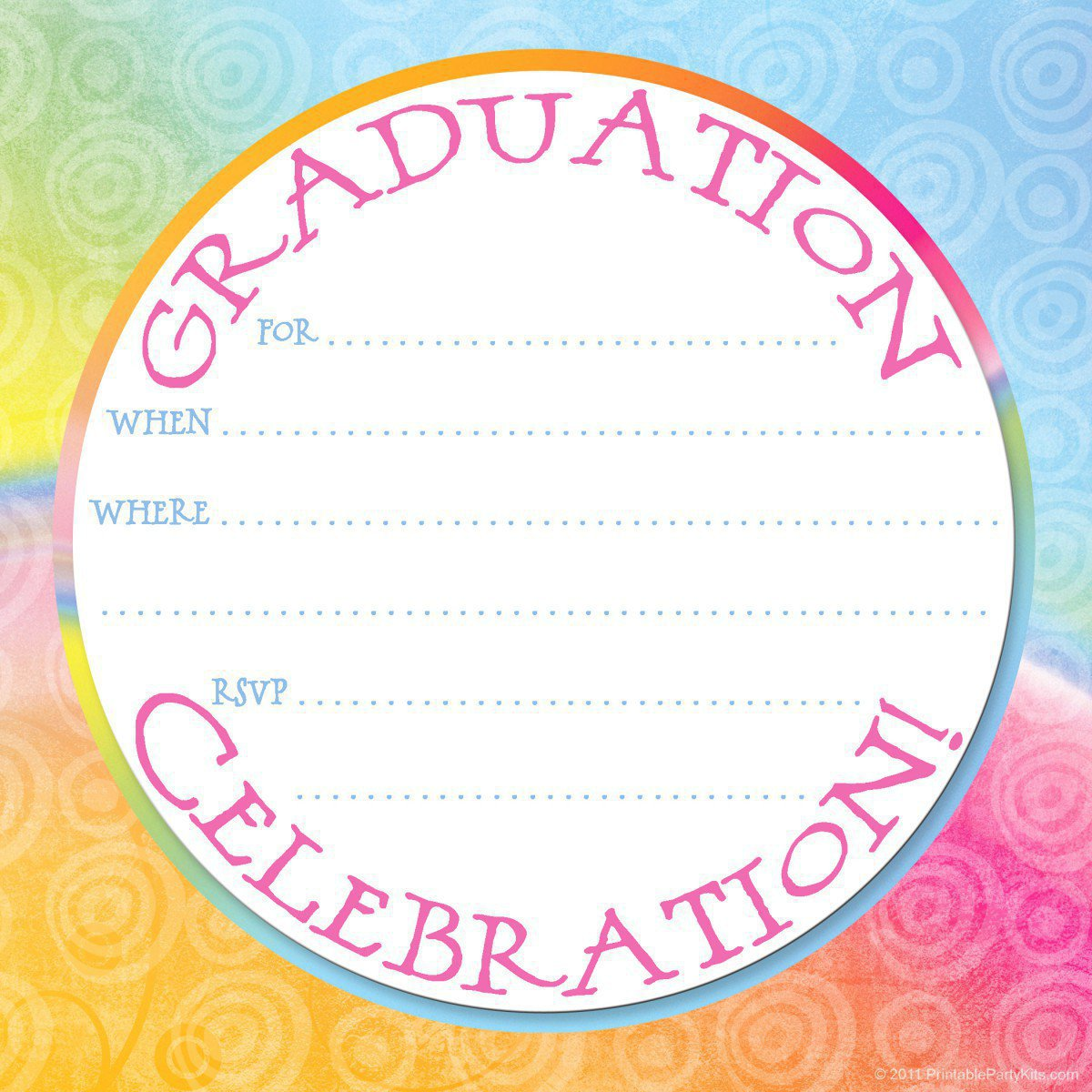 Printable Graduation Announcements 2012 Free