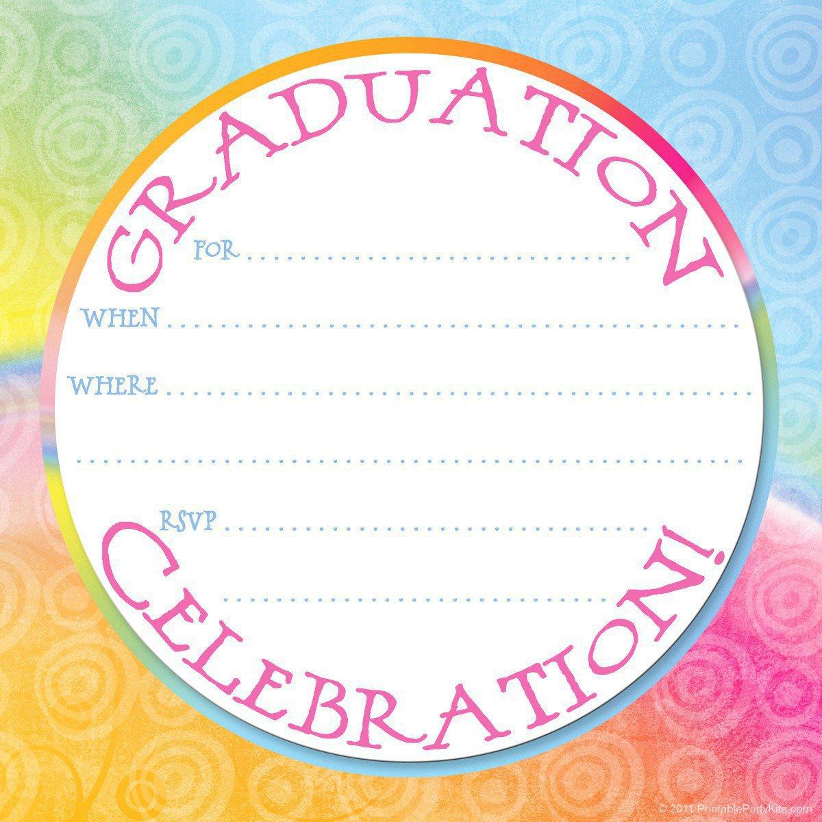 Printable Graduation Announcements 2012 Free