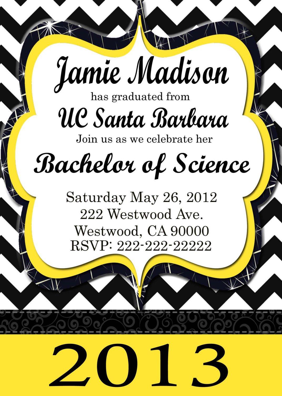 Printable Graduation Party Invitations 2013