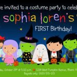 Printable Halloween Birthday Invitations 2018