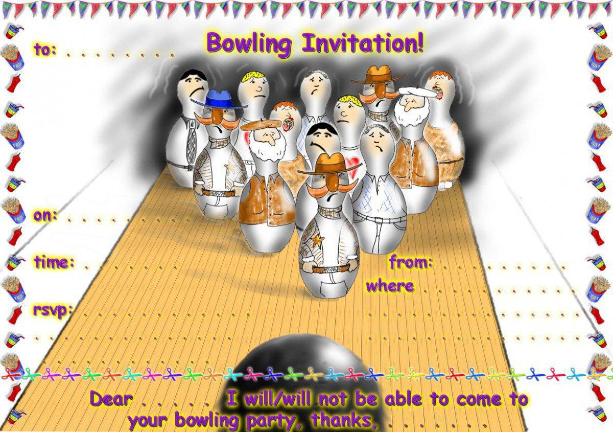 Printable Halloween Invitation Cards