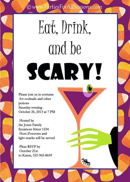 Printable Halloween Invitation Ideas 2017