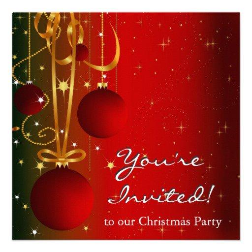 Printable Holiday Invitations 2017