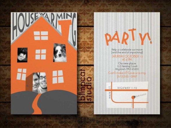 Printable Housewarming Invitations Free 2018