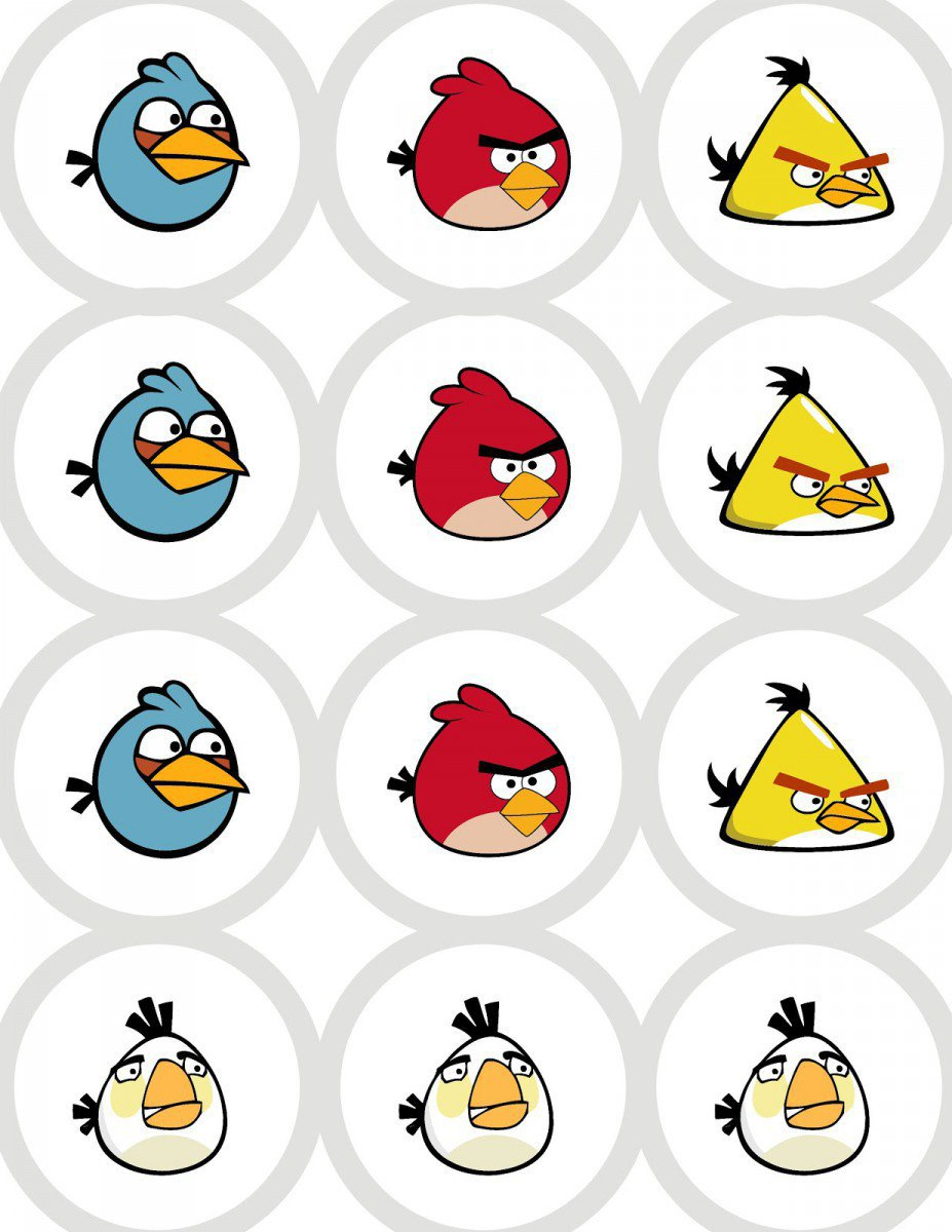 Printable Invitation Kits Angry Birds 2015