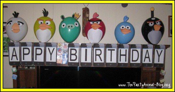 Printable Invitation Kits Angry Birds