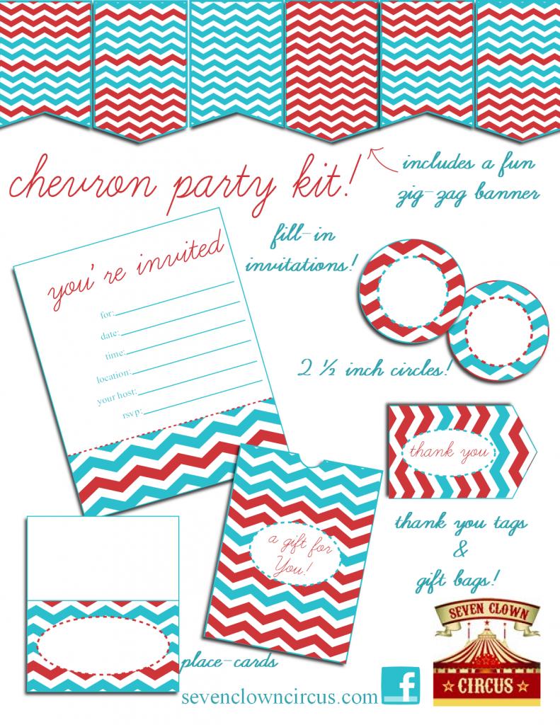 Printable Invitation Kits Free