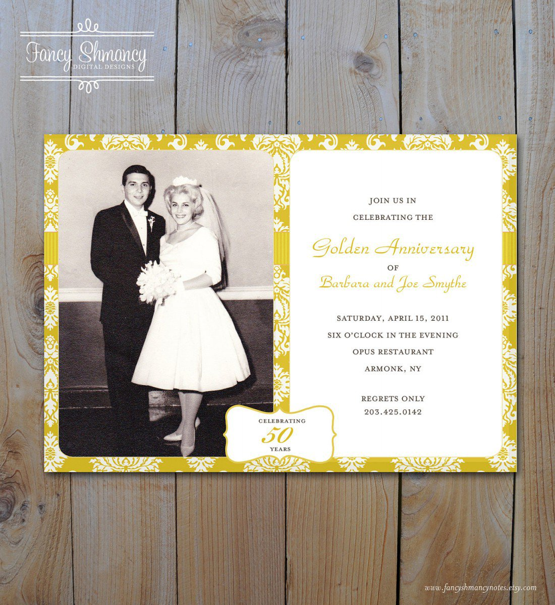 Printable Invitations Anniversary Party 2018