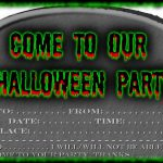 Printable Invitations Free Halloween 2018