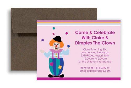 Printable Kids Birthday Party Invitations Templates 2018