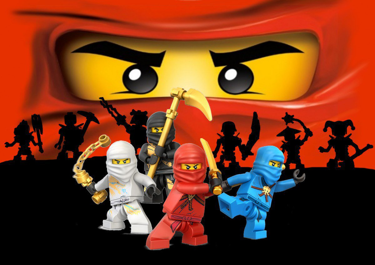 Printable Lego Ninjago Party Invitations 2015