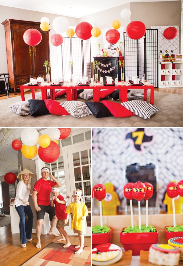 Printable Lego Ninjago Party Invitations 2018