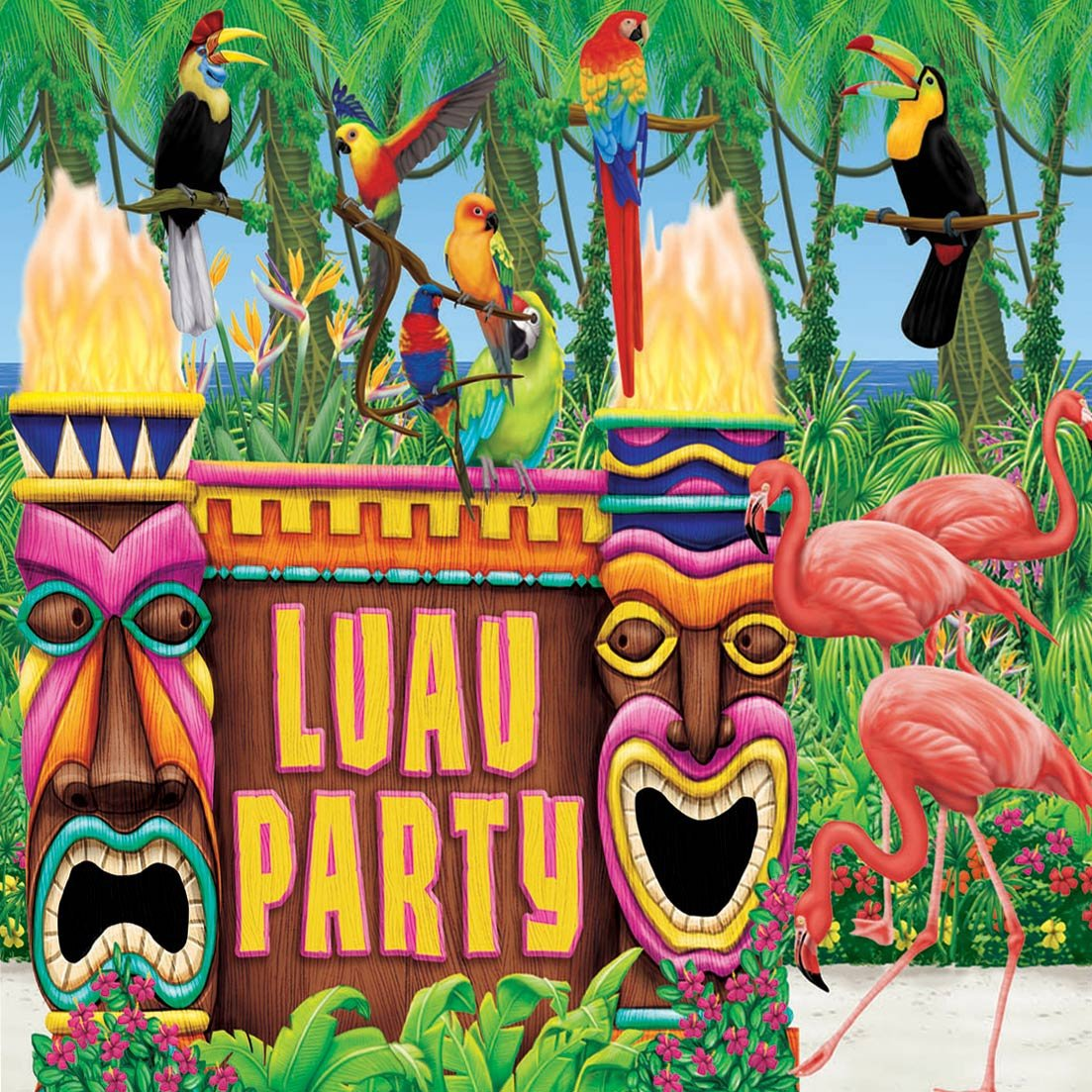 Printable Luau Invitations For Kids 2016
