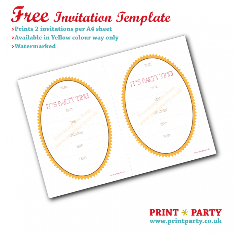 Printable Maps For Invitations Free