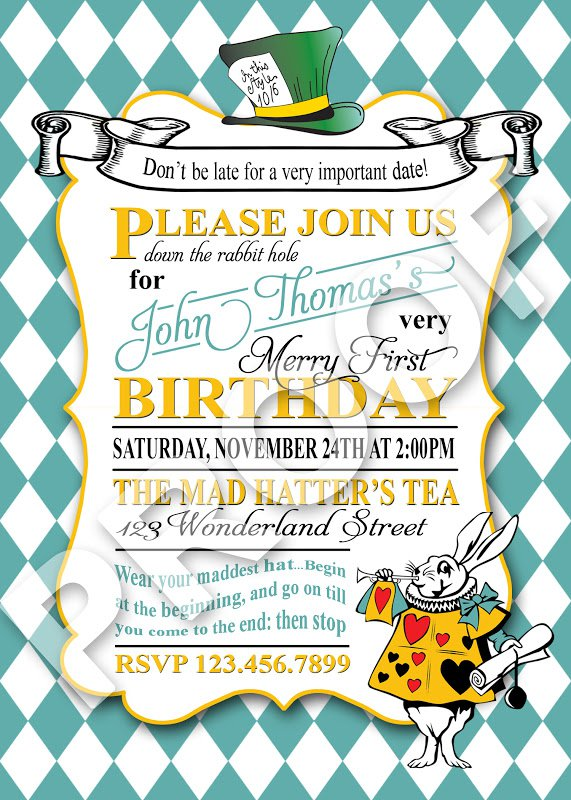Printable Party Invitation Paper 2017