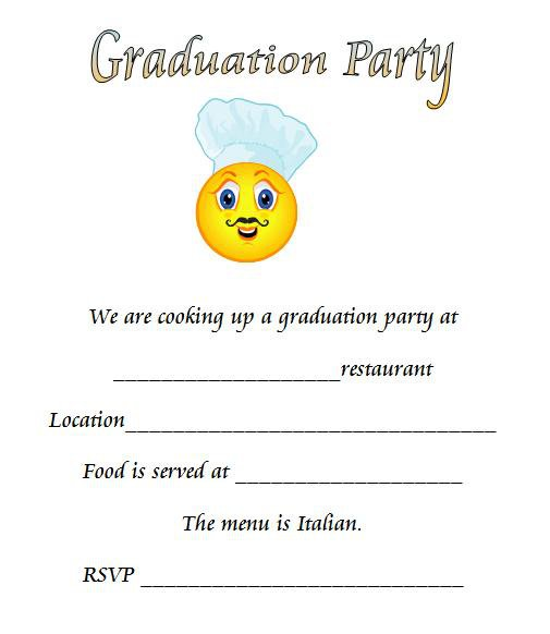 Printable Rehearsal Dinner Party Invitations 2016