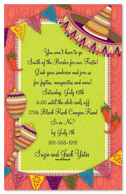 Printable Rehearsal Dinner Party Invitations 2018
