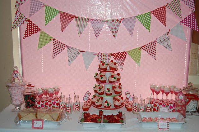 Printable Strawberry Shortcake Birthday Invitations 2015