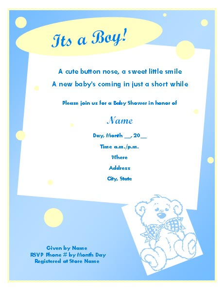 Printable Surprise Party Invitation Template 2017