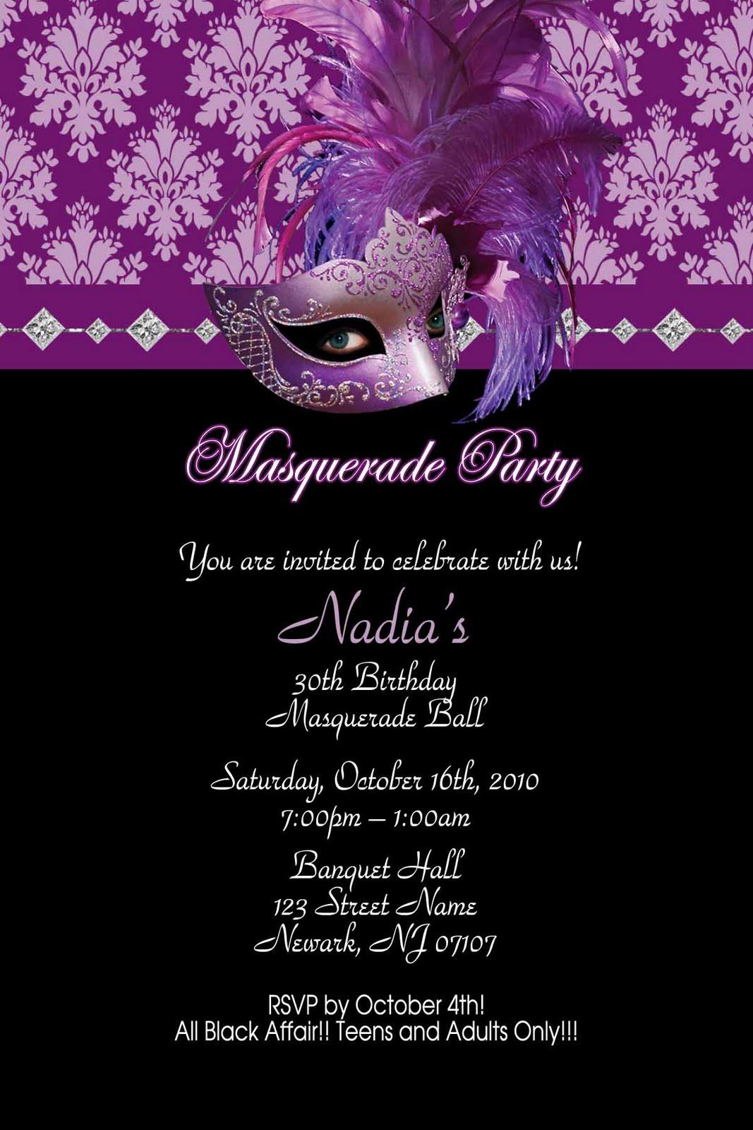 Printable Sweet 16 Birthday Invitations 2015