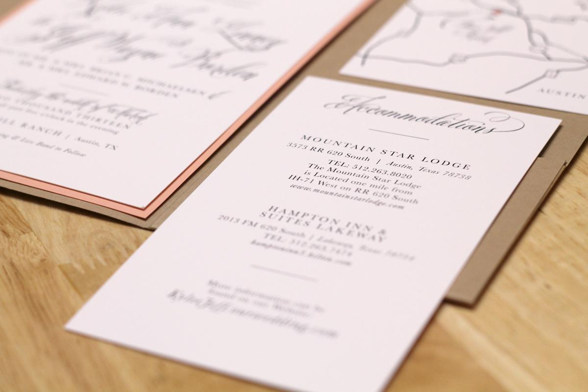 Printable Wedding Invitation Maps