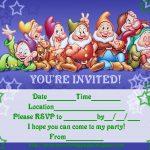 Rapunzel Printable Invitations 2018