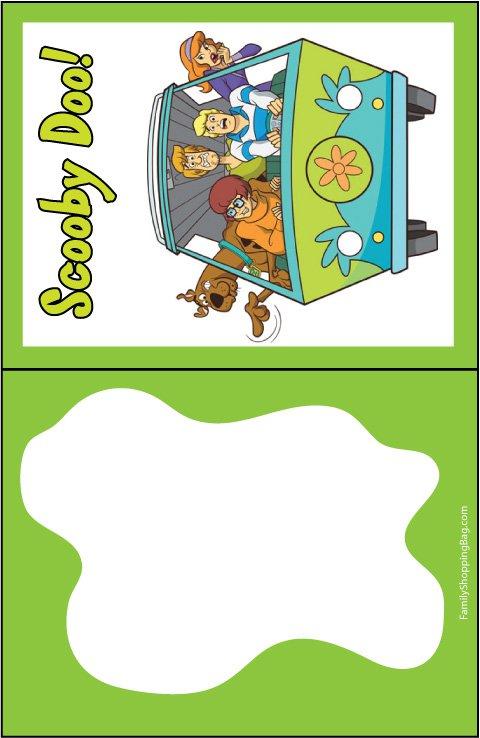 Scooby Doo Birthday Party Invitations Printable 2018