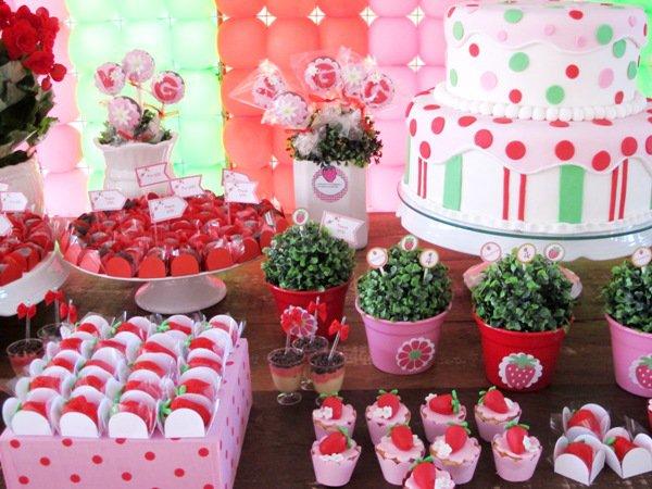 Strawberry Shortcake Printable Birthday Invitations 2017