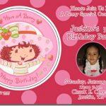 Strawberry Shortcake Printable Invitations Free 2018