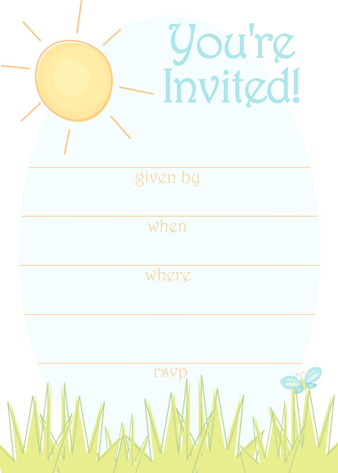 Summer Party Invitation Templates