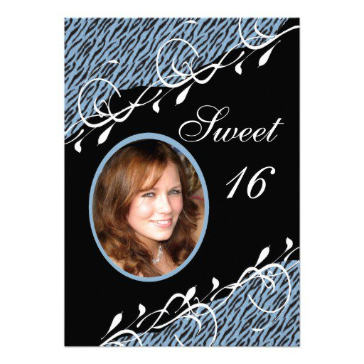 Sweet 16 Free Printable Invitations 2017